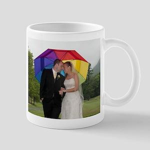 wedding umbrella pic Mugs