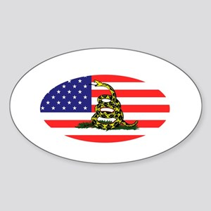 Sons-of-Liberty-(oval-flag)-dark-sh Sticker (Oval)