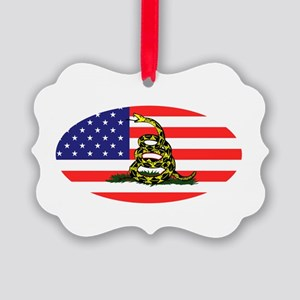Sons-of-Liberty-(oval-flag)-dark- Picture Ornament