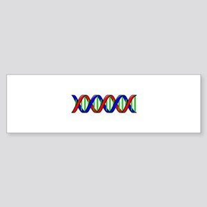 DNA Strand Bumper Sticker