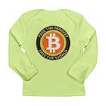 Bitcoin-8 Long Sleeve Infant T-Shirt