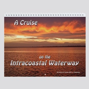 Intracoastal Waterway Cruise Wall Calendar