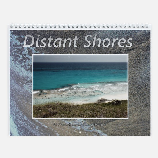 Distant Shores And Beaches Wall Calendar