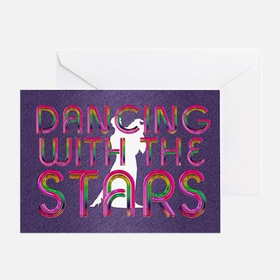 dancingwstars1 Greeting Card