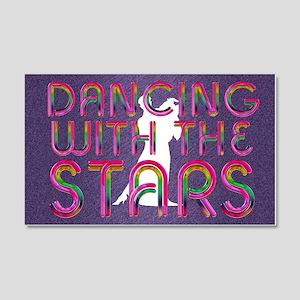 dancingwstars1 20x12 Wall Decal