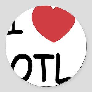 OTL Round Car Magnet