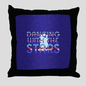 dancingwstarsbsq Throw Pillow
