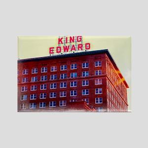 King Edward Hotel Rectangle Magnet
