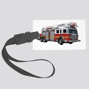 firetruck2 Large Luggage Tag