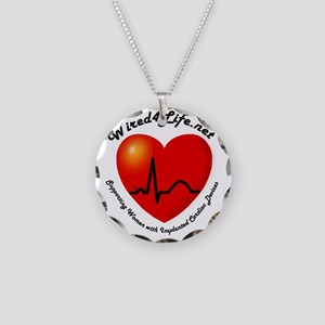 Wired4Life-3a Necklace Circle Charm