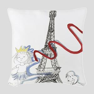Princess Smartypants Woven Throw Pillow