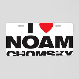 Noam Love Aluminum License Plate