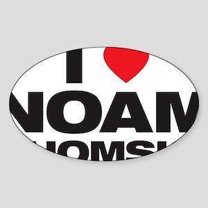 Noam Love Sticker (Oval)