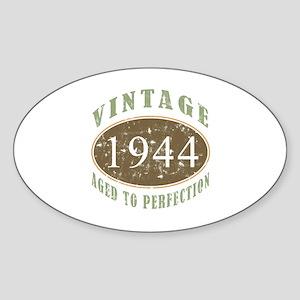 1944 Vintage Birthday Sticker (Oval)