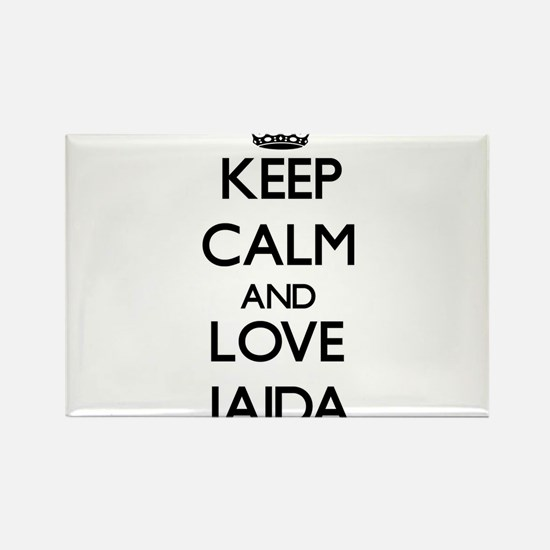 Keep Calm and Love Jaida Magnets