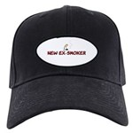 New Ex-Smoker Black Cap