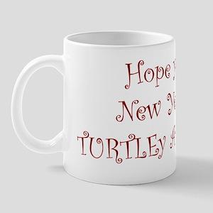 turtle  snail inside Mug
