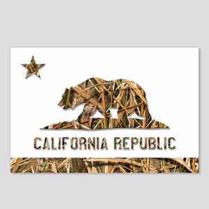 Weeds Camo California Bear 2 Postcards (Package of