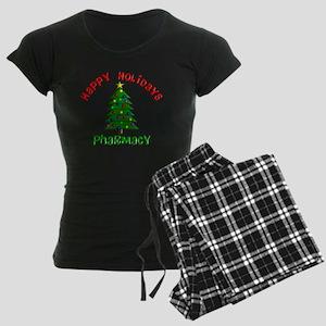 Happy holidays Pharmacy Women's Dark Pajamas