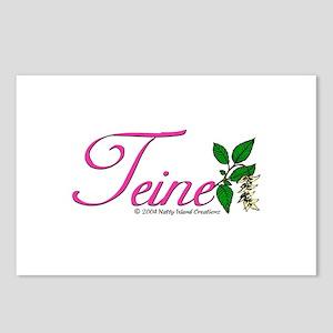 Flower Teine Postcards (Package of 8)