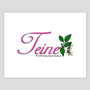 Flower Teine Small Poster