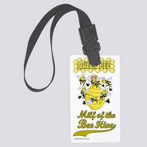 BEE_HIVE Large Luggage Tag