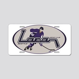 Player logo Aluminum License Plate