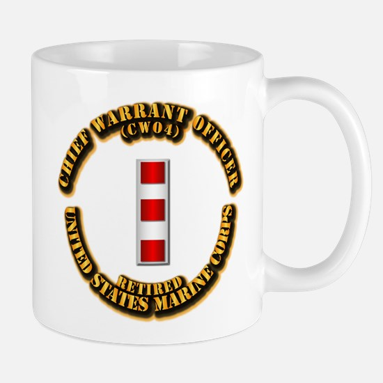 USMC - CW4 - Retired Mug