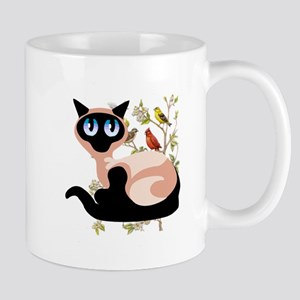 Wide Eyed Siamese Mug