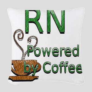 coffee RN Woven Throw Pillow
