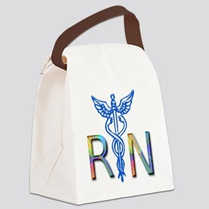 RN COLORS 2 Canvas Lunch Bag