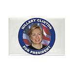 Hillary Clinton for President Rectangle Magnet (10