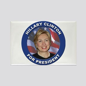 Hillary Clinton for President Rectangle Magnet