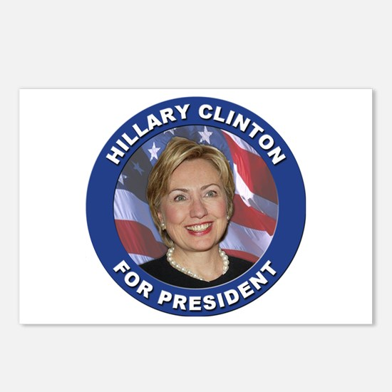 Hillary Clinton for President Postcards (Package o