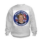 Hillary Clinton for President Kids Sweatshirt