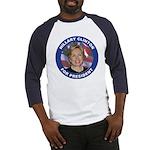 Hillary Clinton for President (Front) Baseball Jer