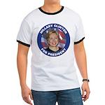Hillary Clinton for President (Front) Ringer T