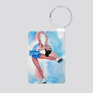 layback spin3 Aluminum Photo Keychain