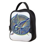 Silver Mockingjay Neoprene Lunch Bag