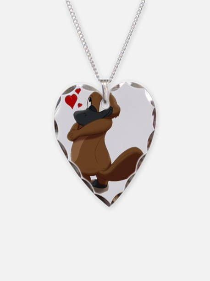 platypus hearts Necklace