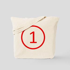 red1 Tote Bag