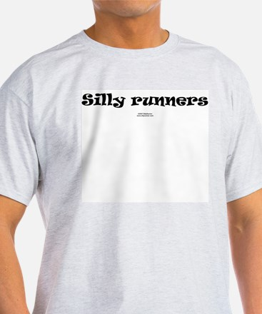 Silly runners Ash Grey T-Shirt