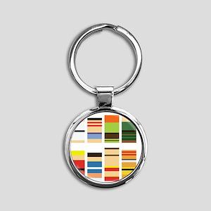 sfm Round Keychain