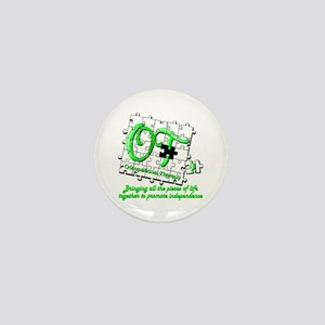 ot puzzlegreen Mini Button
