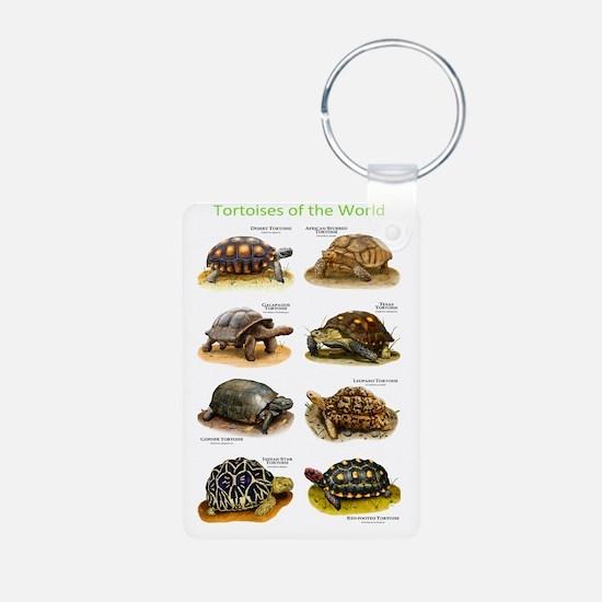 Tortoises of the World Keychains