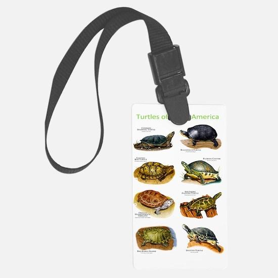 Turtles of North America Luggage Tag