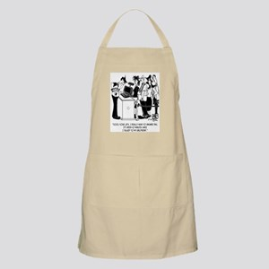 I Haven't Talked On My Phone for 10 Minutes Apron