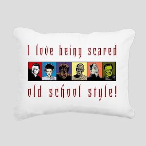oldSchoolLight Rectangular Canvas Pillow