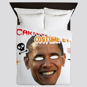 sacariest_costume_obama_dark Queen Duvet