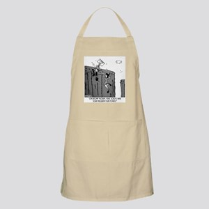Could I Have Your Frequent Flier Points? Apron